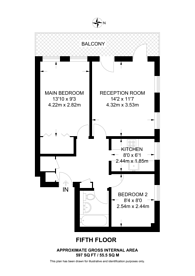 Large floorplan for New Cavendish Street, Fitzrovia, W1W