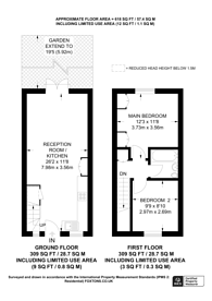 Large floorplan for Brudenell Road, Tooting, SW17