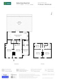 Large floorplan for Oakley Green Road, Windsor, SL4