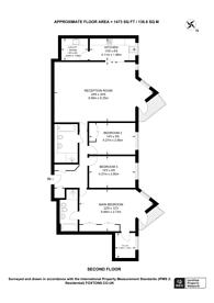 Large floorplan for Strand Drive, Kew, TW9