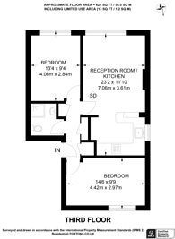 Large floorplan for Westbourne Park Road, Westbourne Park, W2