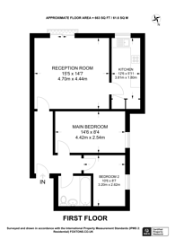 Large floorplan for Jasmine Grove, Penge, SE20