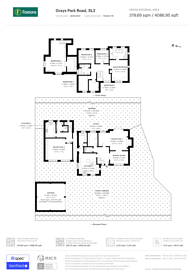 Large floorplan for Grays Park Road, Stoke Poges, SL2