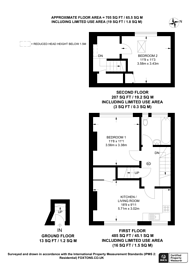Large floorplan for Booth Road, Colindale, NW9