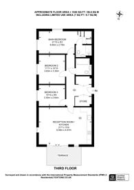 Large floorplan for Dunnock House, Hendon, NW9