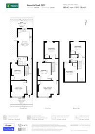 Large floorplan for Lascotts Road, Wood Green, N22