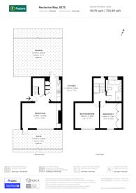 Large floorplan for Nectarine Way, Lewisham, SE13