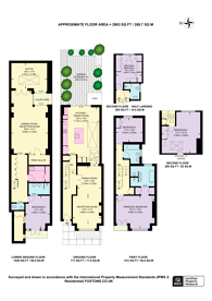 Large floorplan for Guion Road, Parsons Green, SW6