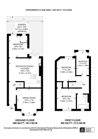 Large floorplan for Gumleigh Road, South Ealing, W5