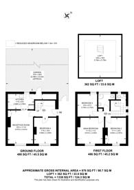 Large floorplan for Randlesdown Road, Catford, SE6