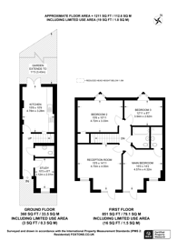 Large floorplan for Chandos Road, Stratford, E15