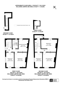 Large floorplan for Holloway Road, Archway, N19