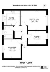 Large floorplan for Bailey Close, Bounds Green, N11