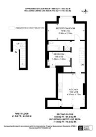 Large floorplan for Mare Street, E8, Hackney, E8