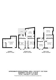 Large floorplan for Eric Street, Mile End, E3