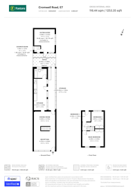 Large floorplan for Cromwell Road, Upton Park, E7