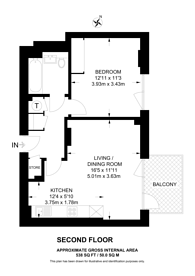 Large floorplan for Upton Gardens, Upton Park, E13