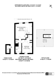 Large floorplan for Dawson Place, Notting Hill, W2