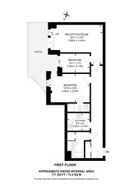 Large floorplan for William Road, Euston, NW1