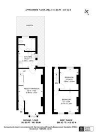 Large floorplan for Tavistock Road, Stratford, E15
