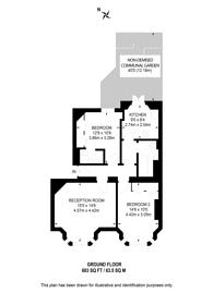 Large floorplan for Fernshaw Road, Chelsea, SW10