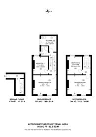 Large floorplan for South Ealing Road, Ealing, W5