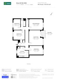 Large floorplan for Templar House, Kilburn, NW2