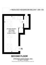 Large floorplan for Gunnersbury Lane, Gunnersbury Triangle, W3