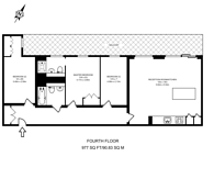 Large floorplan for Tiltman Place, Holloway, N7