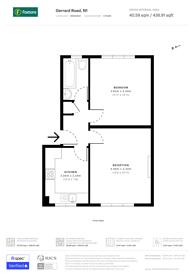 Large floorplan for Gerrard Road, Angel, N1