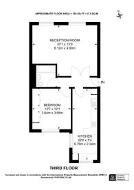 Large floorplan for Randolph Avenue, Little Venice, W9