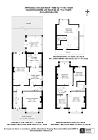 Large floorplan for Jersey Road, Isleworth, TW7