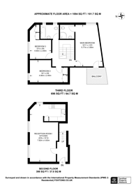 Large floorplan for Hanbury Street, Shoreditch, E1
