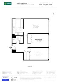 Large floorplan for Austin Road, Battersea, SW11