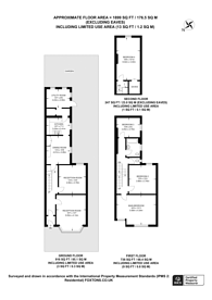 Large floorplan for Kidderminster Road, Croydon, CR0