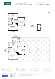 Large floorplan for Laburnham Road, Maidenhead, SL6