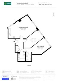 Large floorplan for Whiskin Street, Clerkenwell, EC1R