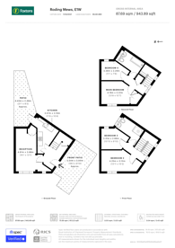 Large floorplan for Roding Mews, Wapping, E1W