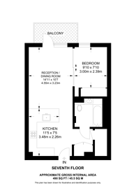 Large floorplan for Fountain Park Way, White City, W12