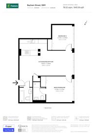 Large floorplan for Bayham Street, Camden Town, NW1