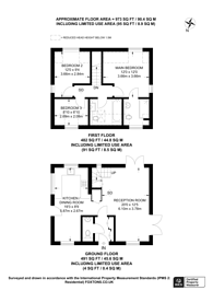 Large floorplan for Guildford Road, Guildford, Normandy, GU3
