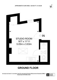 Large floorplan for Kensington Place, Hillgate Village, W8