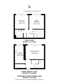 Large floorplan for Banbury Street, Battersea, SW11