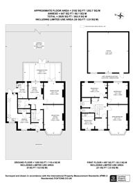 Large floorplan for Sherwood Park Road, Sutton, SM1