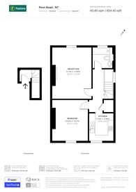 Large floorplan for Penn Road, Hillmarton Conservation Area, N7