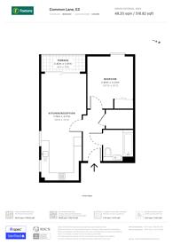 Large floorplan for Bow Common Lane, Bow, E3