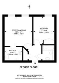 Large floorplan for Kingsland Passage, Dalston, E8