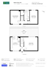 Large floorplan for Batten Close, Beckton, E6