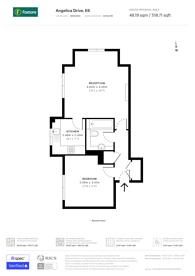 Large floorplan for Angelica Drive, Beckton, E6