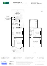 Large floorplan for Holbrook Road, Stratford, E15